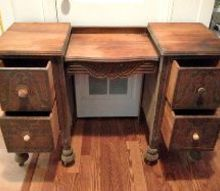 fix it or nix it antique vanity, diy, painted furniture, repurposing upcycling