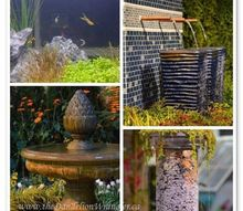 trend spotting at the nwfgs lust rust amp waterways, flowers, gardening, outdoor living, Water was a big theme of the show Spectacular fountains from classic to one of a kind creations