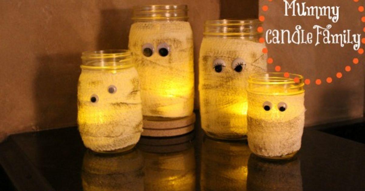 Mummy Candle Family Hometalk