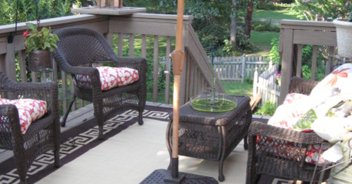 Outdoor deck in birmingham al hometalk for Outdoor furniture birmingham al
