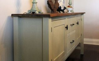 country grey chalk paint sideboard, chalk paint, home decor, painted furniture, After