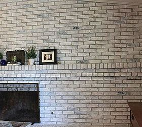 How to White Wash Your Fireplace or Brick | Hometalk