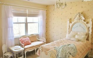 little girl s french inspired room, bedroom ideas, home decor