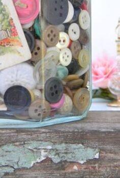 a little organization with pretty jars, organizing