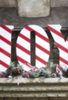 candy cane decor, christmas decorations, crafts, painting, seasonal holiday decor