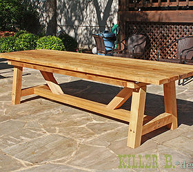 Cedar Provence Table Knockoff For 230, Diy, Outdoor Furniture, Painted  Furniture, Woodworking