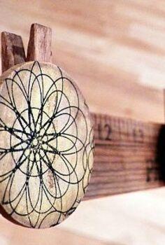 yardstick photo display, crafts