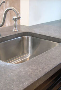 the top 10 which countertop material is right for you, concrete countertops, countertops, kitchen design, Concrete Countertops Would they work in your kitchen