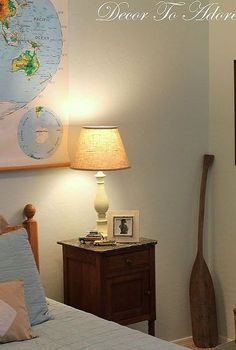 a tween boy s vintage travel themed bedroom, bedroom ideas, home decor