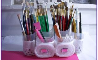 craft caddy, cleaning tips, crafts, decoupage, repurposing upcycling
