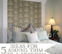 5 ideas for adding wood trim to a bedroom, bedroom ideas, home decor, This is one of the 5 ideas