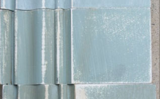 how to get different finishes with duck egg blue chalk paint, chalk paint, painting