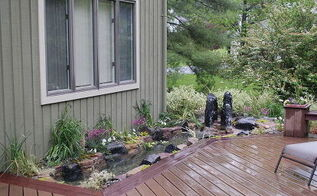 deck planter gains life, decks, gardening, ponds water features, New Living Deck Planter