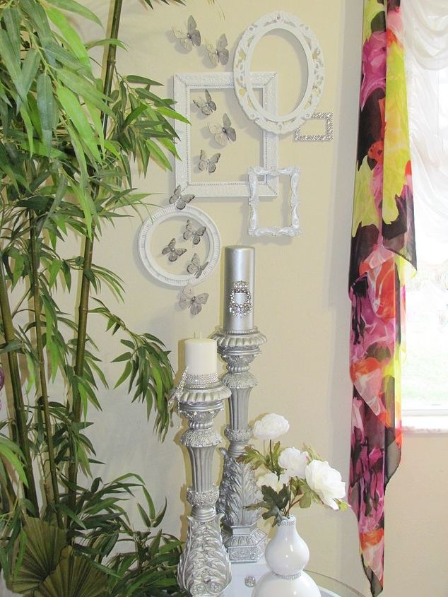Wall Gallery For Small Wall 5 Of 5 White And Silver D Cor Accents Crafts