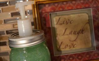 diy mason jar soap dispenser easy and cheap, bathroom ideas, cleaning tips, For full photo visit