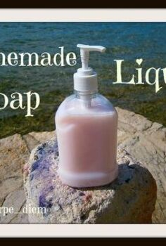 diy homemade liquid soap, cleaning tips