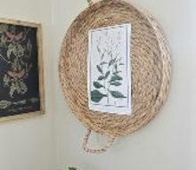 wall art from a basket, crafts, home decor