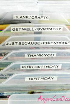 organizing my craft room greeting and craft card organizer, organizing, I m feeling so accomplished after organizing my greeting cards