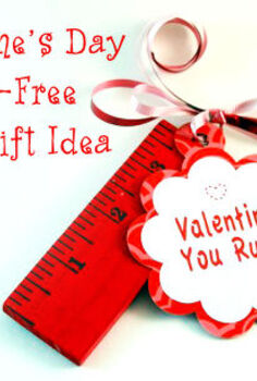 candy free you rule valentines, crafts, seasonal holiday decor, valentines day ideas, You Rule Candy free Valentines