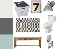 bathroom mood board, bathroom ideas, home decor, bathrrom mood board via The Shabby Creek Cottage