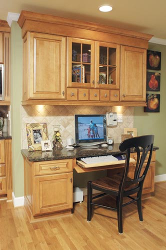 Boring Kitchen Gets An Upscale Renovation With Family In
