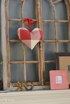 valentine s day mantel, crafts, seasonal holiday decor, valentines day ideas