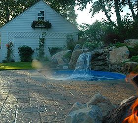 Small Backyard This Spool Is The Perfect Solution, Decks, Outdoor Living,  Patio,