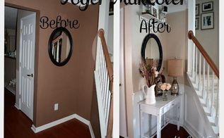budget shabby chic foyer makeover, foyer, home decor, shabby chic, DIY Budget Shabby Chic Foyer Makeover