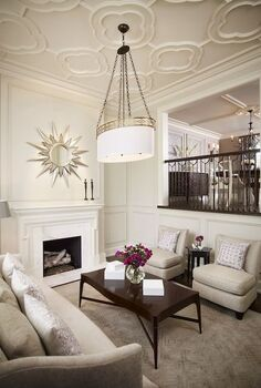 using sunburst mirrors in your home decor, home decor, living room ideas