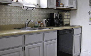 how to make your kitchen cabinets look built in using scrap wood, diy, how to, kitchen cabinets, kitchen design, woodworking projects, Admire