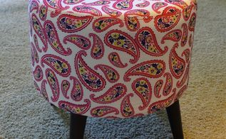 My Fabric Covered Step Stool Hometalk