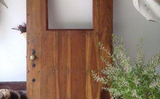 reclaimed refinished vintage door, doors, repurposing upcycling, Interior