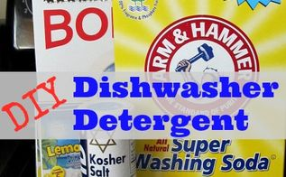 homemade dishwasher detergent recipe 2 per load, appliances, cleaning tips