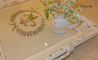 entertaining, crafts, I painted the frame with homemade chalk paint