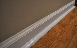 how to install 3 4 inch molding tutorial by sam at diyhuntress com, diy, flooring, how to, wall decor, woodworking projects, Photo courtesy of diyhuntress com