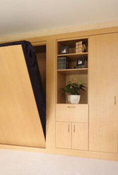 murphy bed, bedroom ideas, painted furniture