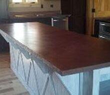 brick red glazed w black, countertops, kitchen design