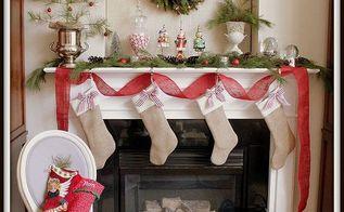 christmas mantel and family room, christmas decorations, seasonal holiday decor
