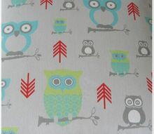 anthro owl fabric project, crafts, Hoot Hoot