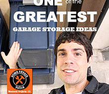 who else wants one of the greatest garage storage ideas ever, garages, storage ideas, One of the greatest garage storage ideas ever