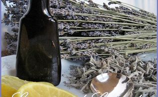 homemade lemon and lavender simmering potpourri, cleaning tips