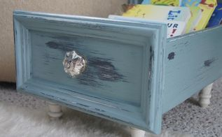 fun drawer upcycle, painted furniture, After