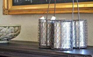5 clever new uses for tin cans, cleaning tips, repurposing upcycling