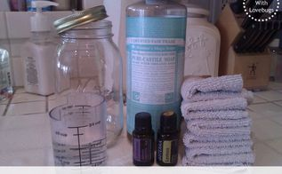 diy cleaning wipes, cleaning tips, go green