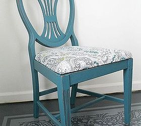 Gorgeous Upholstery From A Shower Curtain, Home Decor, Living Room Ideas,  Painted Furniture