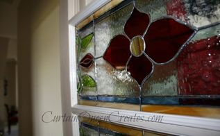 how to install stained glass windows, doors, The finished product See my blog post for more details