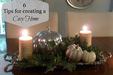 tips for creating a cozy home, seasonal holiday decor, Turn on the lamps