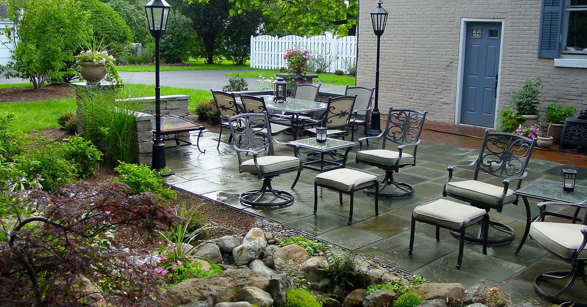 Landscape Design Ideas W Patio Amp Water Feature In