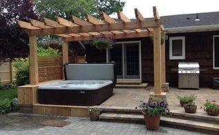 new decks with hot tubs, decks, outdoor living, pool designs, spas