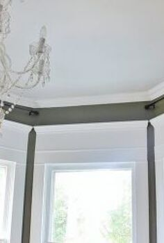 an easy solution for the blank space over the window, windows